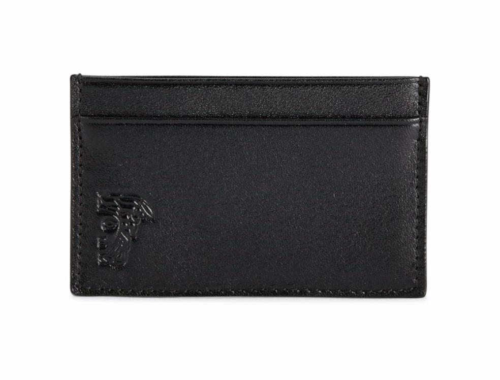 Versace Leather Card Holder ($59.99, SaksOff5th.com)