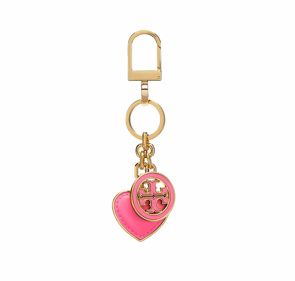 Tory Burch Logo and Heart Key Fob ($55, ToryBurch,com)