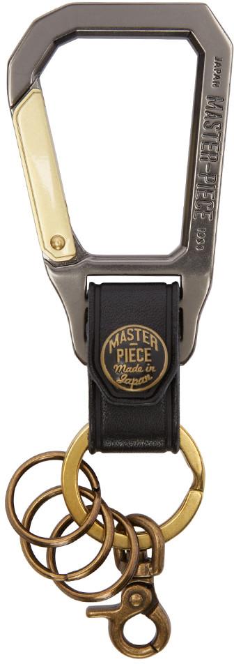 Master-Piece Co. Black Carabiner Keychain ($65, SSense.com)