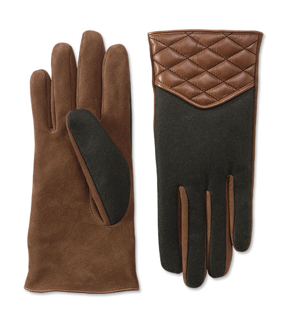 Quilted Mixed-Media Driving Gloves ($69, Orvis.com)