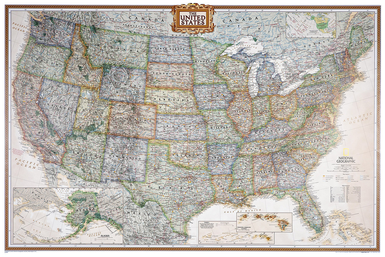 U.S. Pushpin Travel Map Kit ($59.99, PushPinTravelMaps.com)