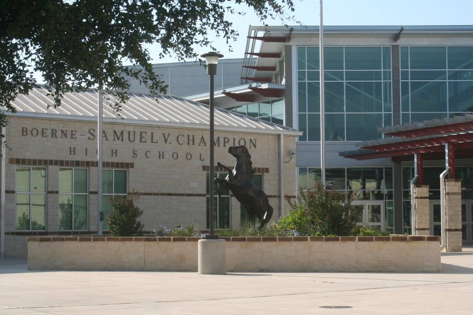 Samuel V Champion High School in Boerne, Texas