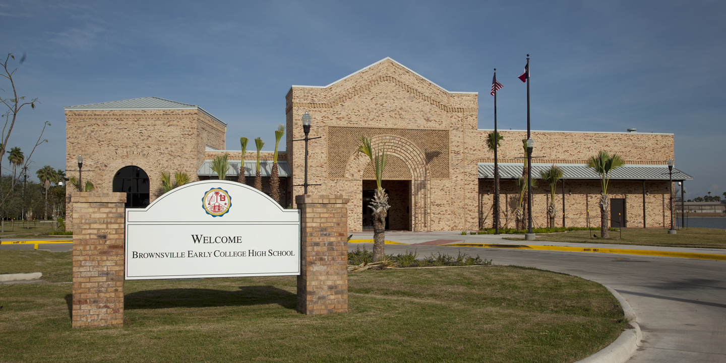 Brownsville Early College High School in Brownsville. Texas