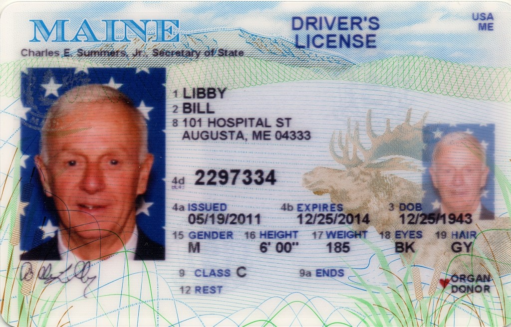 maine driver license