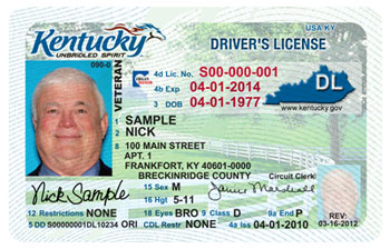 kentucky driver license
