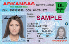 arkansas drivre license