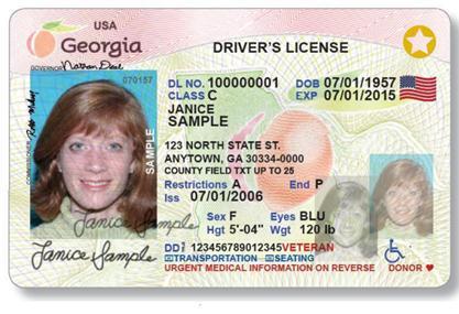 georgia driver license