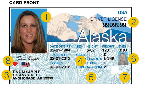alaska driver license