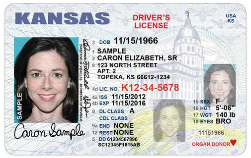 kansas driver license