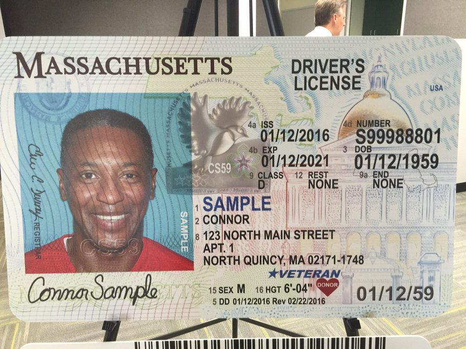 massachusetts driver license