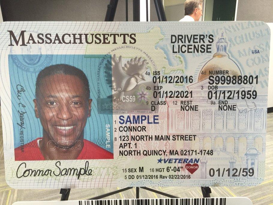 massachusetts driver license