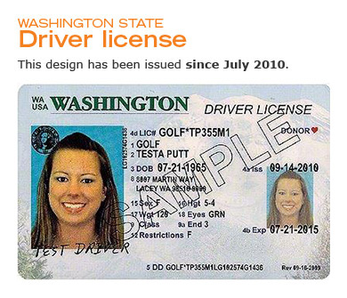 washington driver license