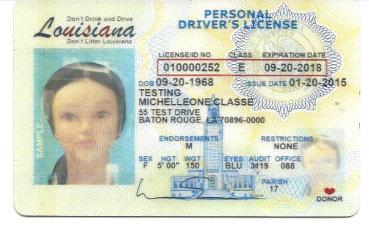 louisiana driver license