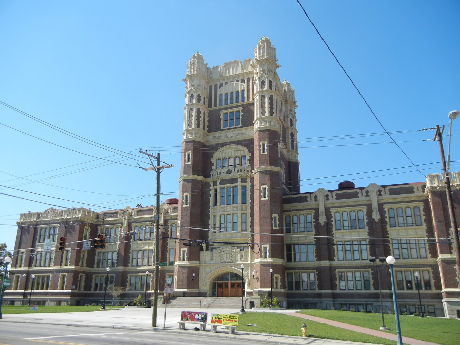 Hughes STEM High School, Cinciannti
