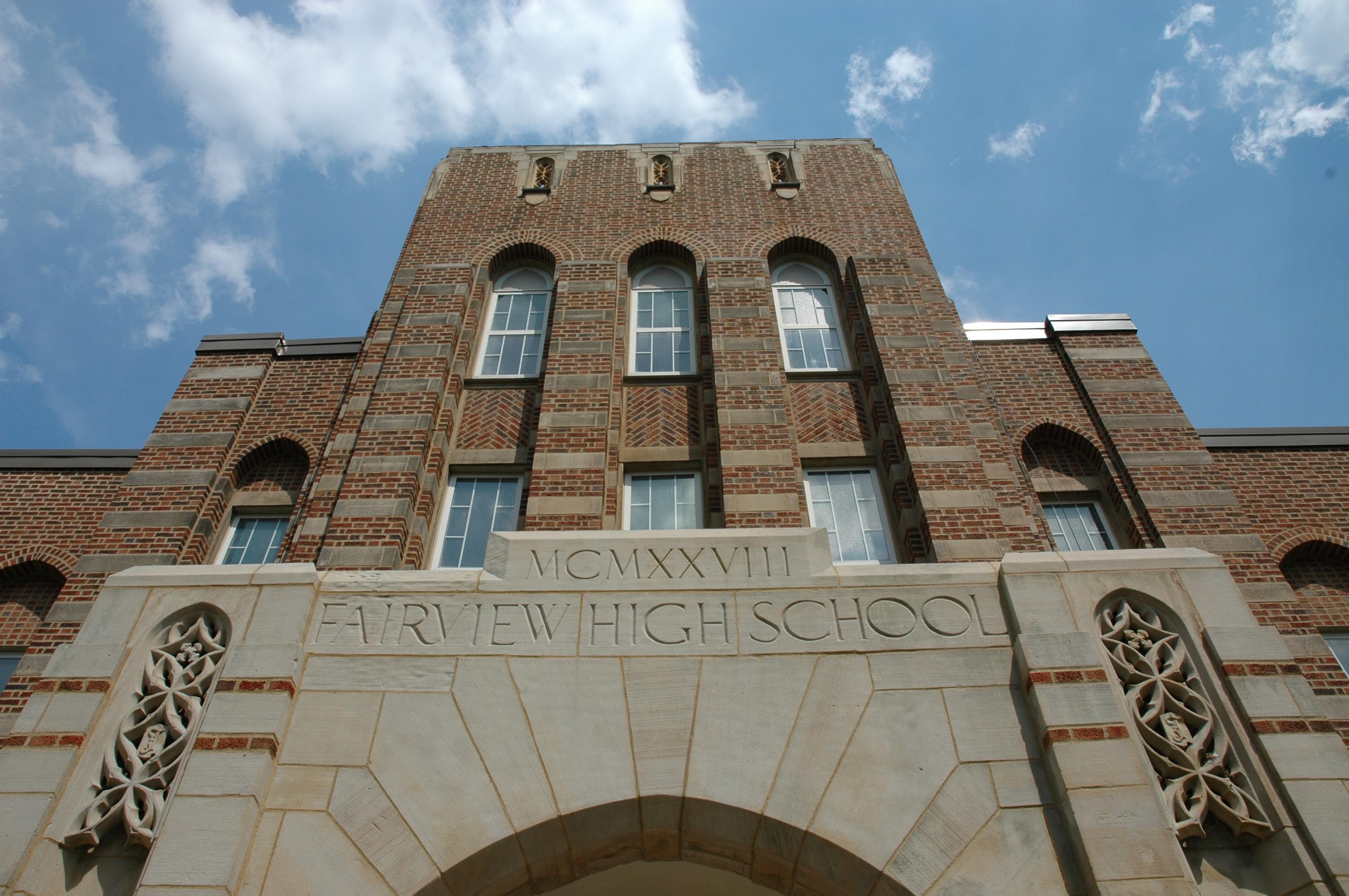 Fairview High School in Fairview Park, Ohio