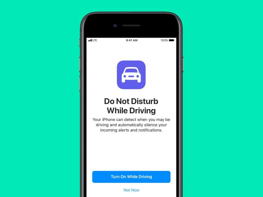 Safe Driving Mode Apple