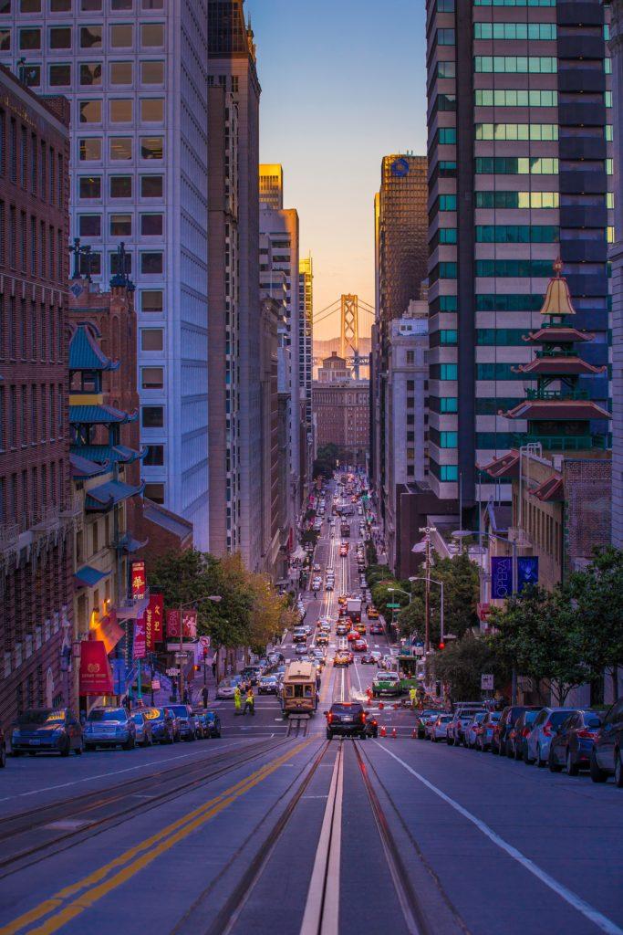 San Francisco driving