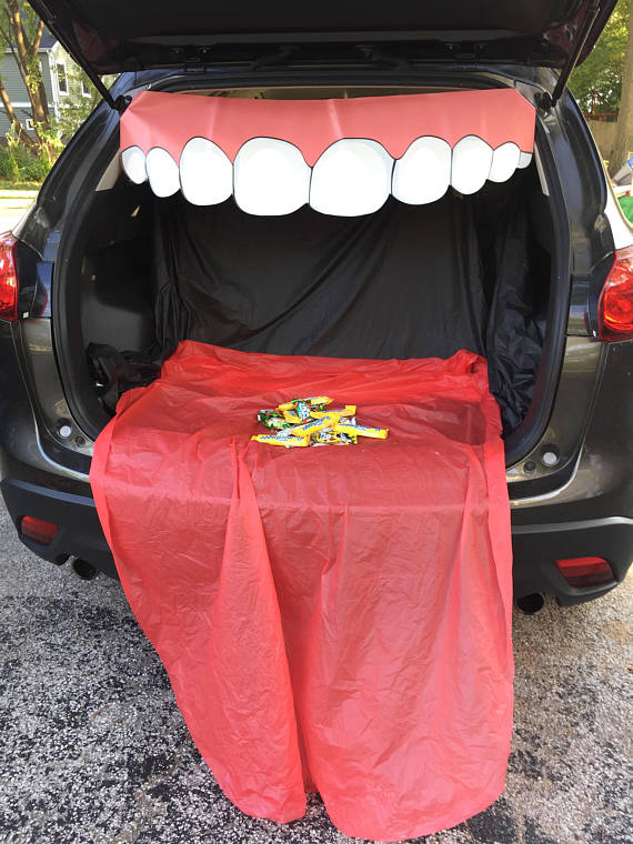 Trick or Trunk Teeth
