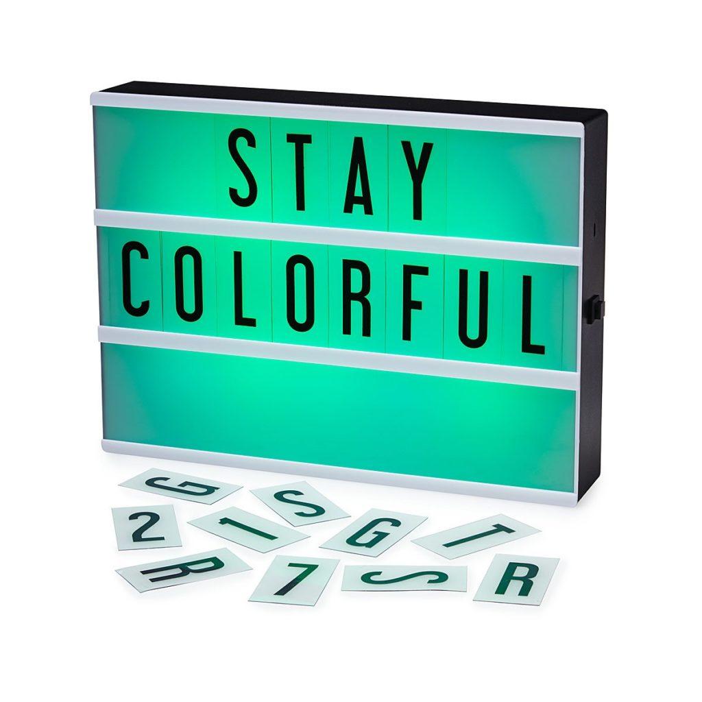 Colorful Light-board
