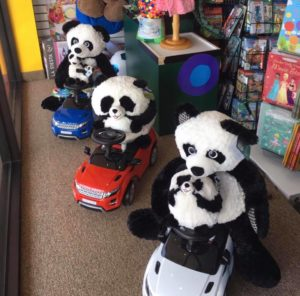 unique panda toys