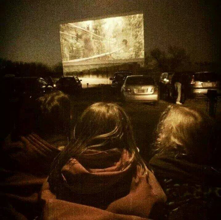 Texas drive in theater