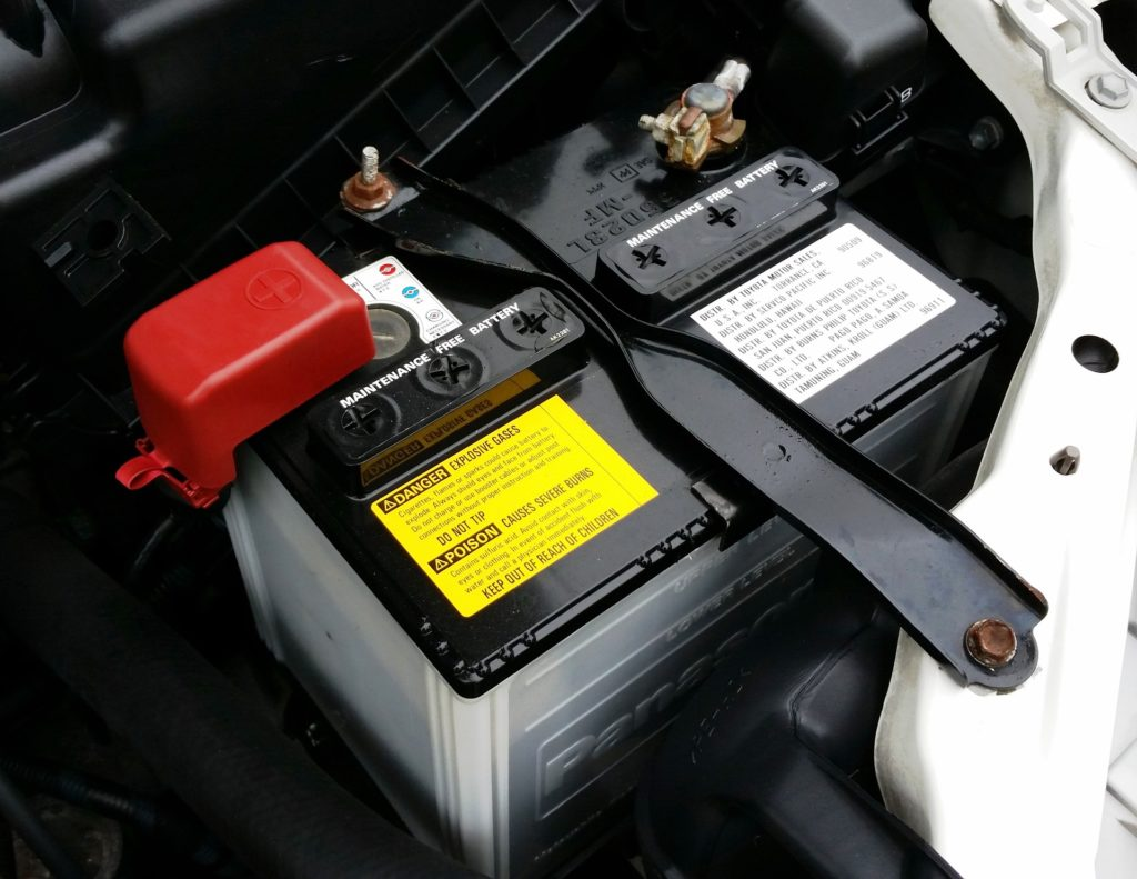 car battery how to jump a battery