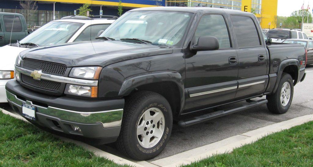 2004 Chevy Silverado theft LA