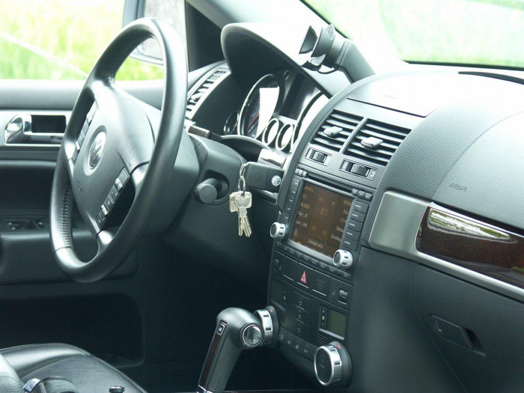 car keys left in ignition