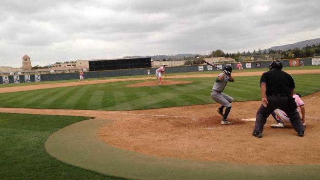 aceable beckman high school baseball field