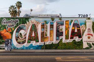 California mural