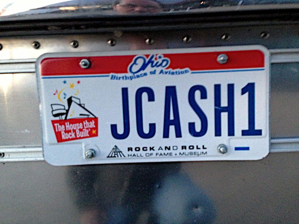 Ohio custom license plate