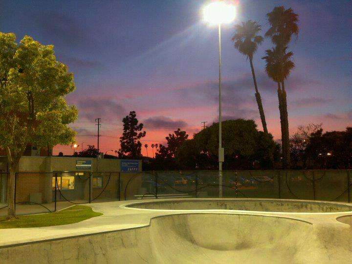 santa monica skatepark the cove