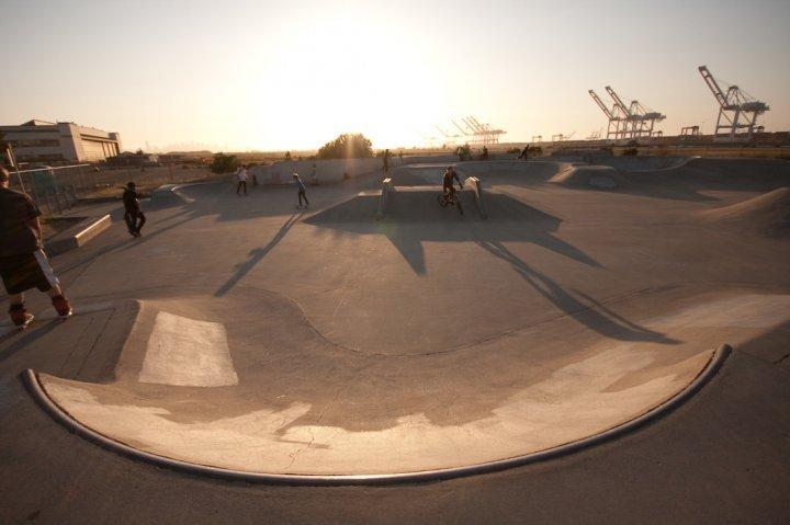 city view skatepark