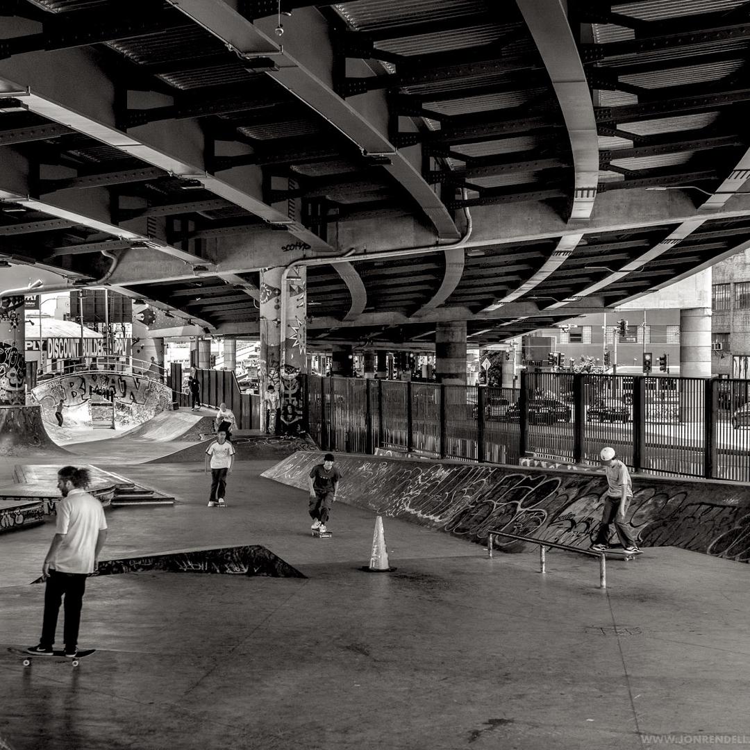 under the bridge skatepark