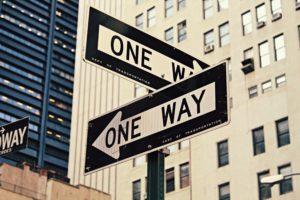 Decisions-making crossroads